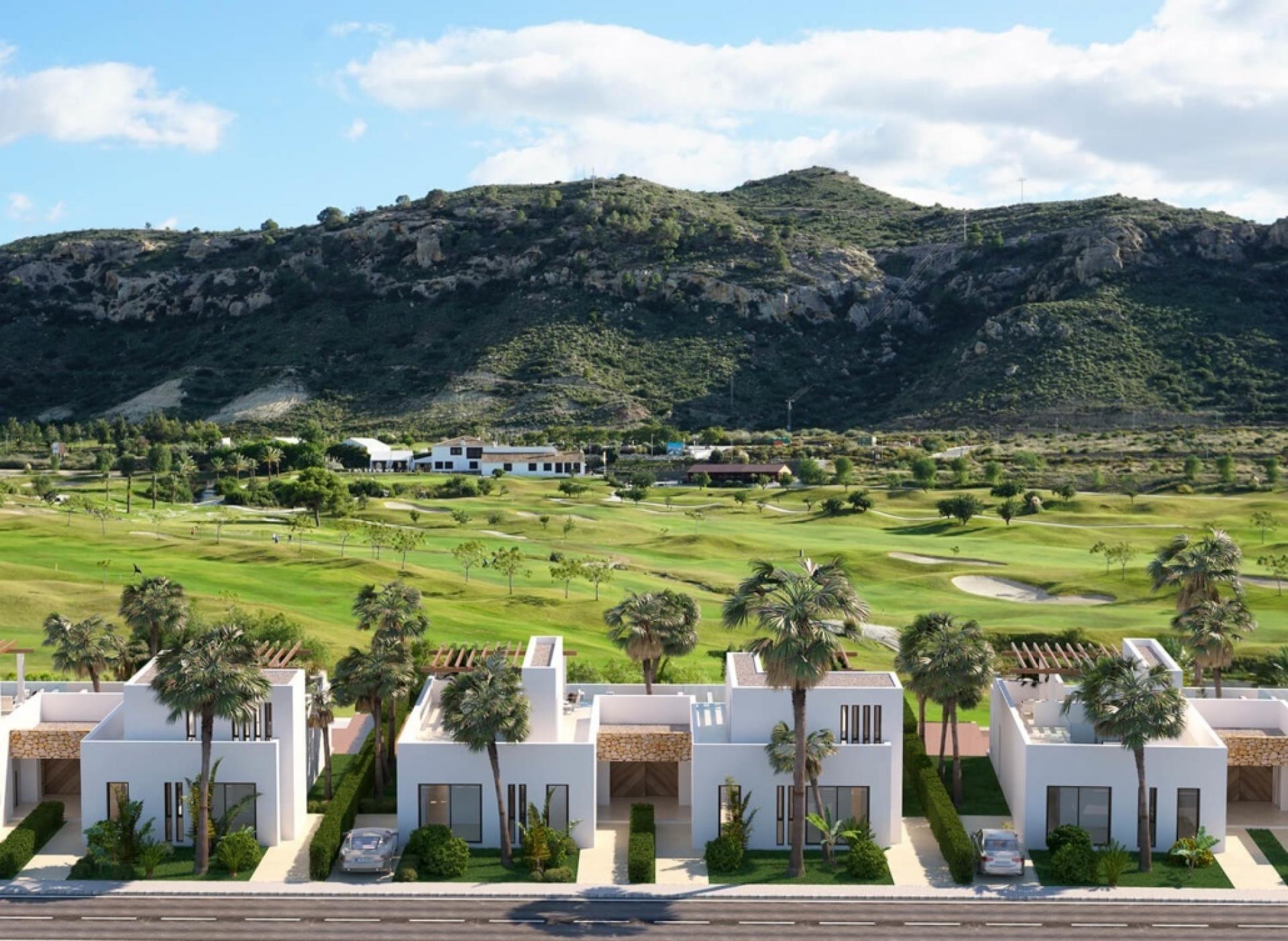 Makalu villas - Font de Llop golf Alicante