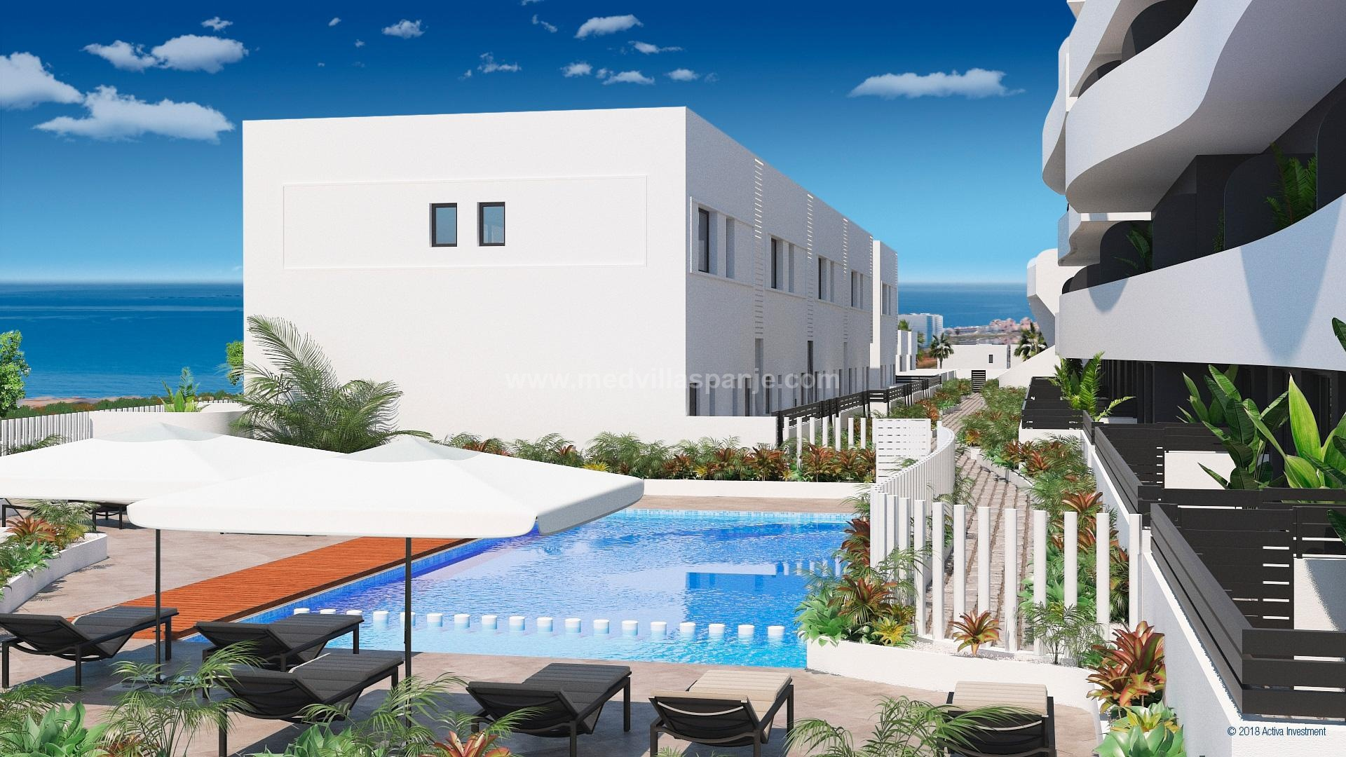 2 bedroom Apartments - solarium in Guardamar - New build in Medvilla Spanje