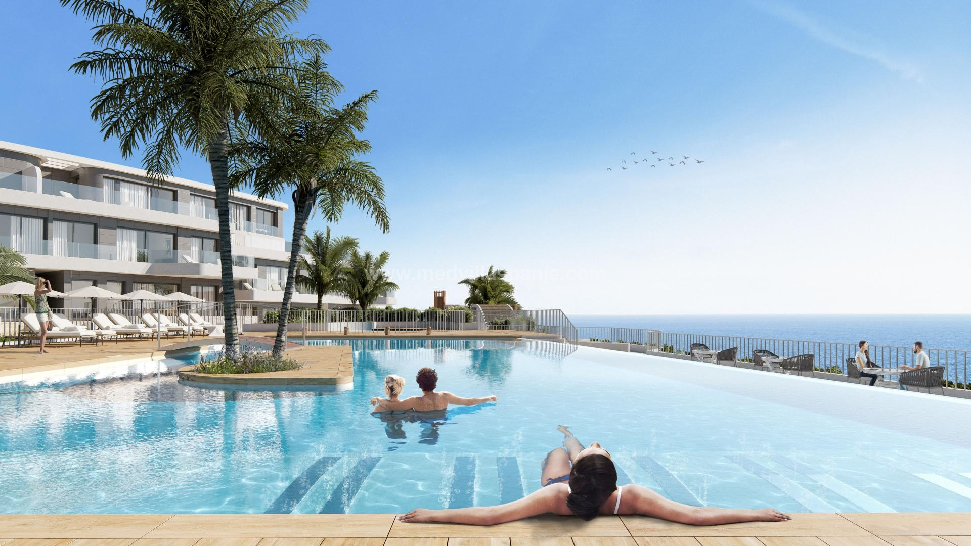 3 Bedroom Apartment in Aguilas, Costa Cálida in Medvilla Spanje