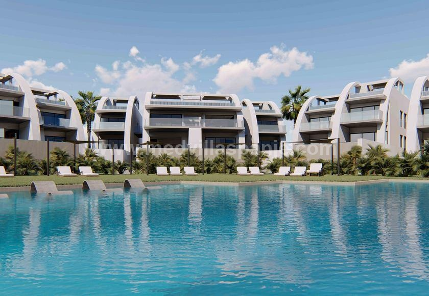 Ground floor apartment with private pool in Rojales, Alicante (Costa Blanca) in Medvilla Spanje