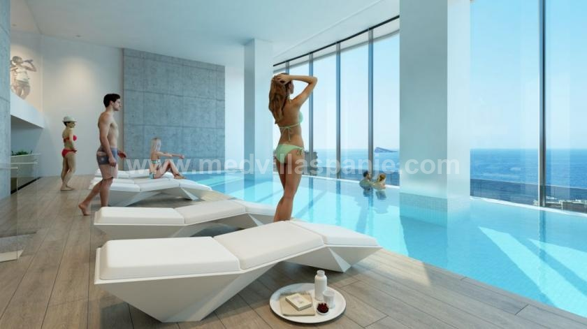Benidorm - Apartments with beautiful sea view in Medvilla Spanje