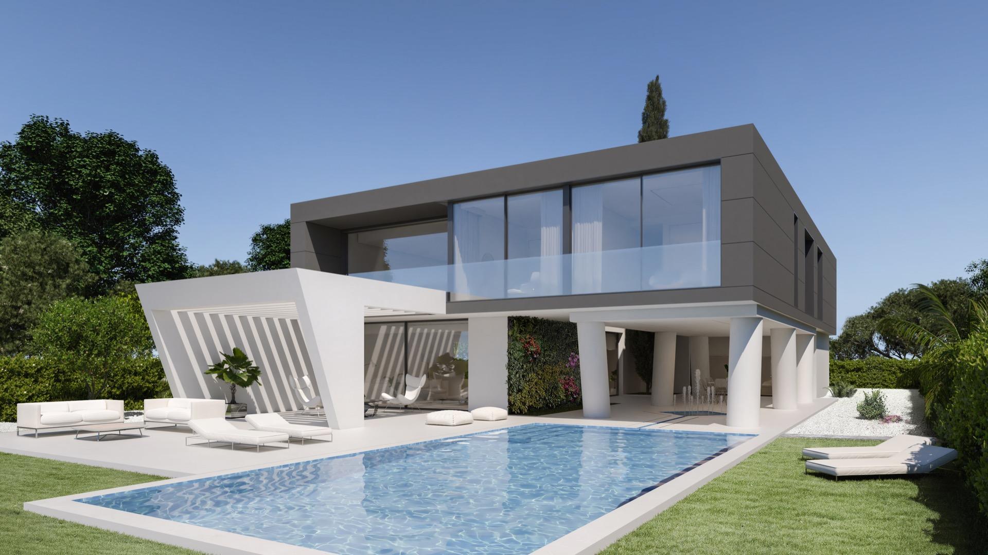 Olimpo villa Altaona golf and country village in Medvilla Spanje