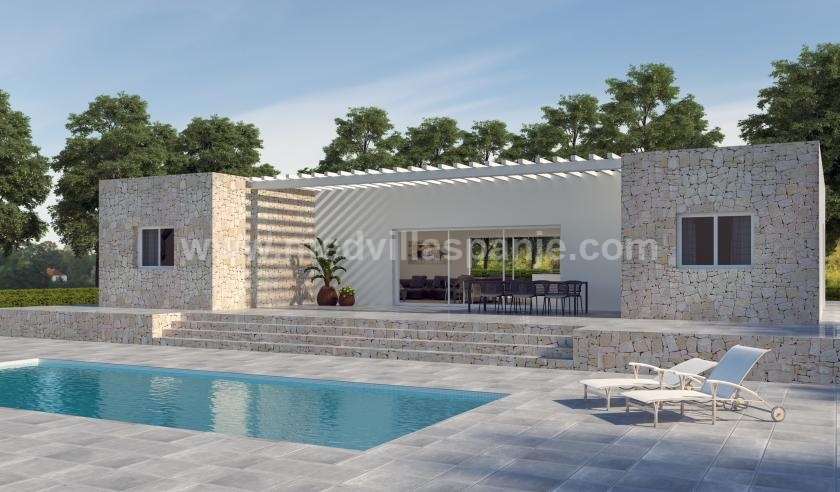 Off-plan villa in Hondon de las Nieves in Medvilla Spanje
