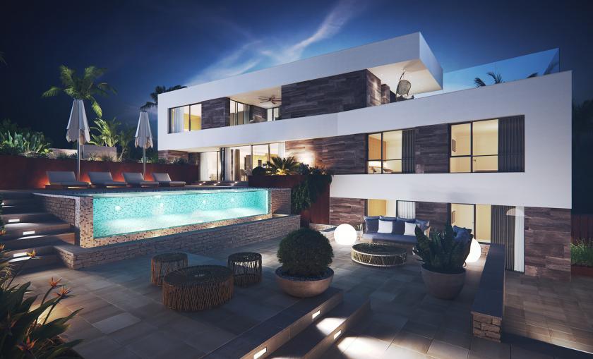 Luxury villa in Cabo de Palos, Murcia in Medvilla Spanje