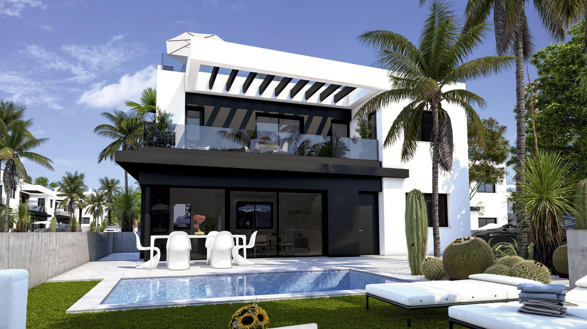 New project in south of Alicante in Medvilla Spanje