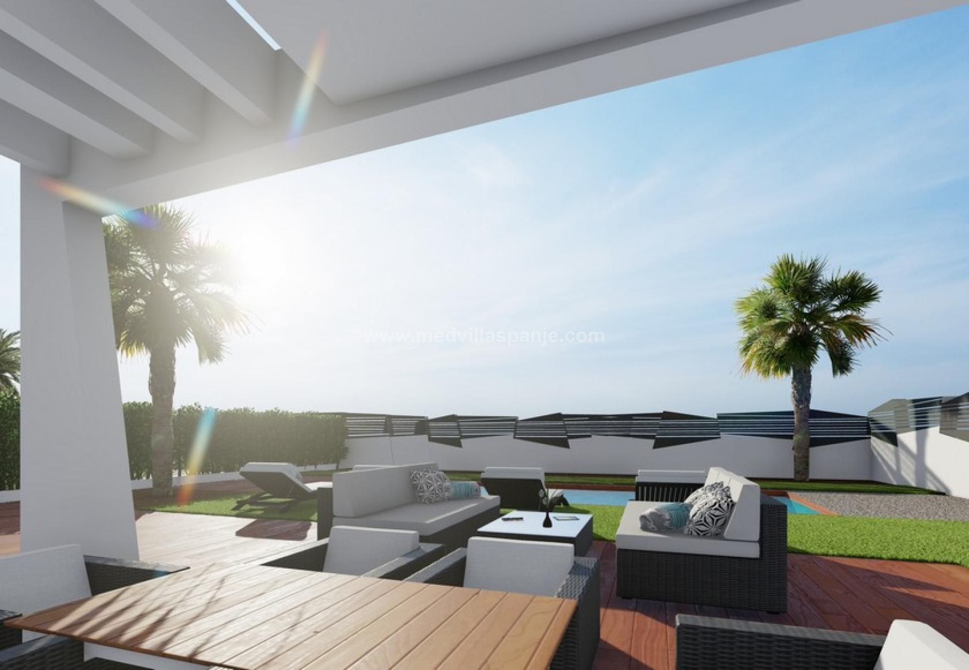 Alicante, New build villas in Finestrat, Costa Blanca North in Medvilla Spanje
