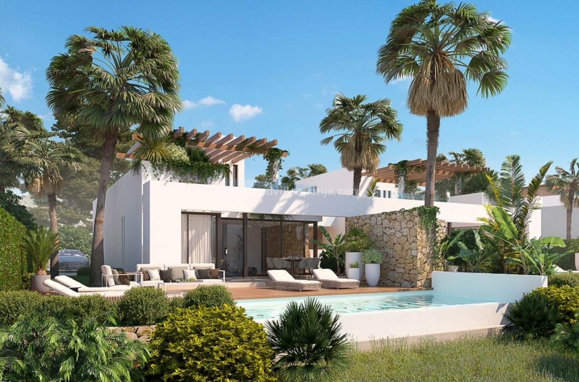 Villa on exclusive golf resort Font Del Llop, Aspe - Costa Blanca in Medvilla Spanje