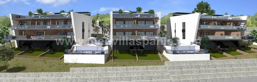 Apartment in Finestrat, Balcón de Finestrat for sale in Medvilla Spanje