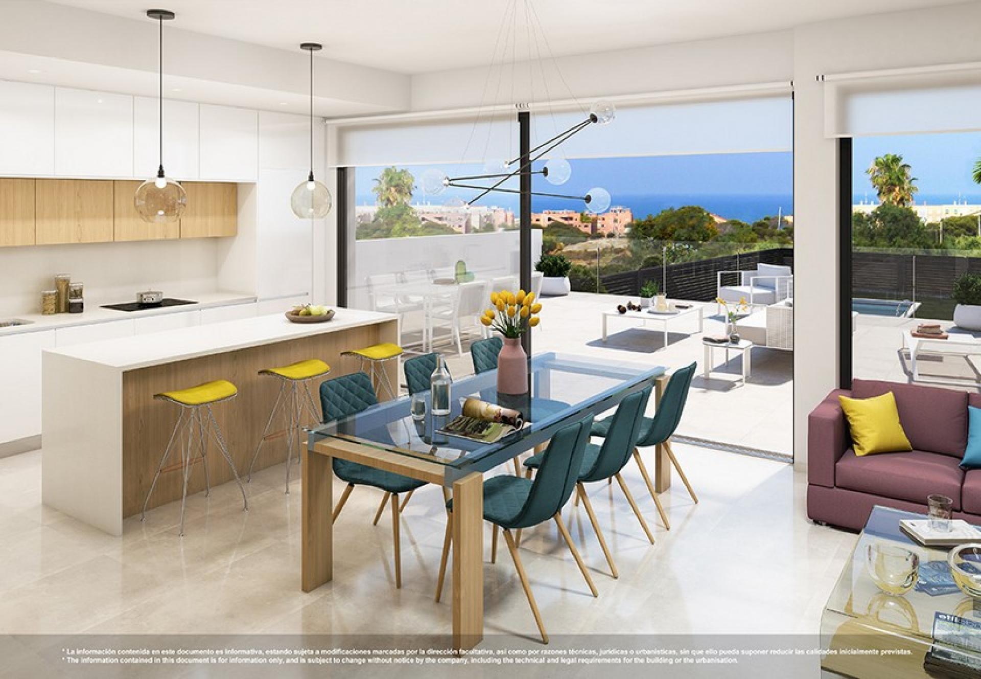 3 bedroom Apartments - solarium in Guardamar - New build in Medvilla Spanje