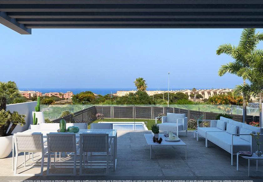 3 bedroom Apartments - solarium in Guardamar in Medvilla Spanje