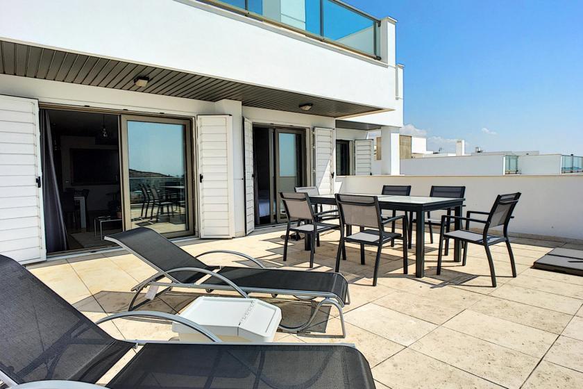 3 bedroom Apartment with terrace in San Juan de los Terreros in Medvilla Spanje