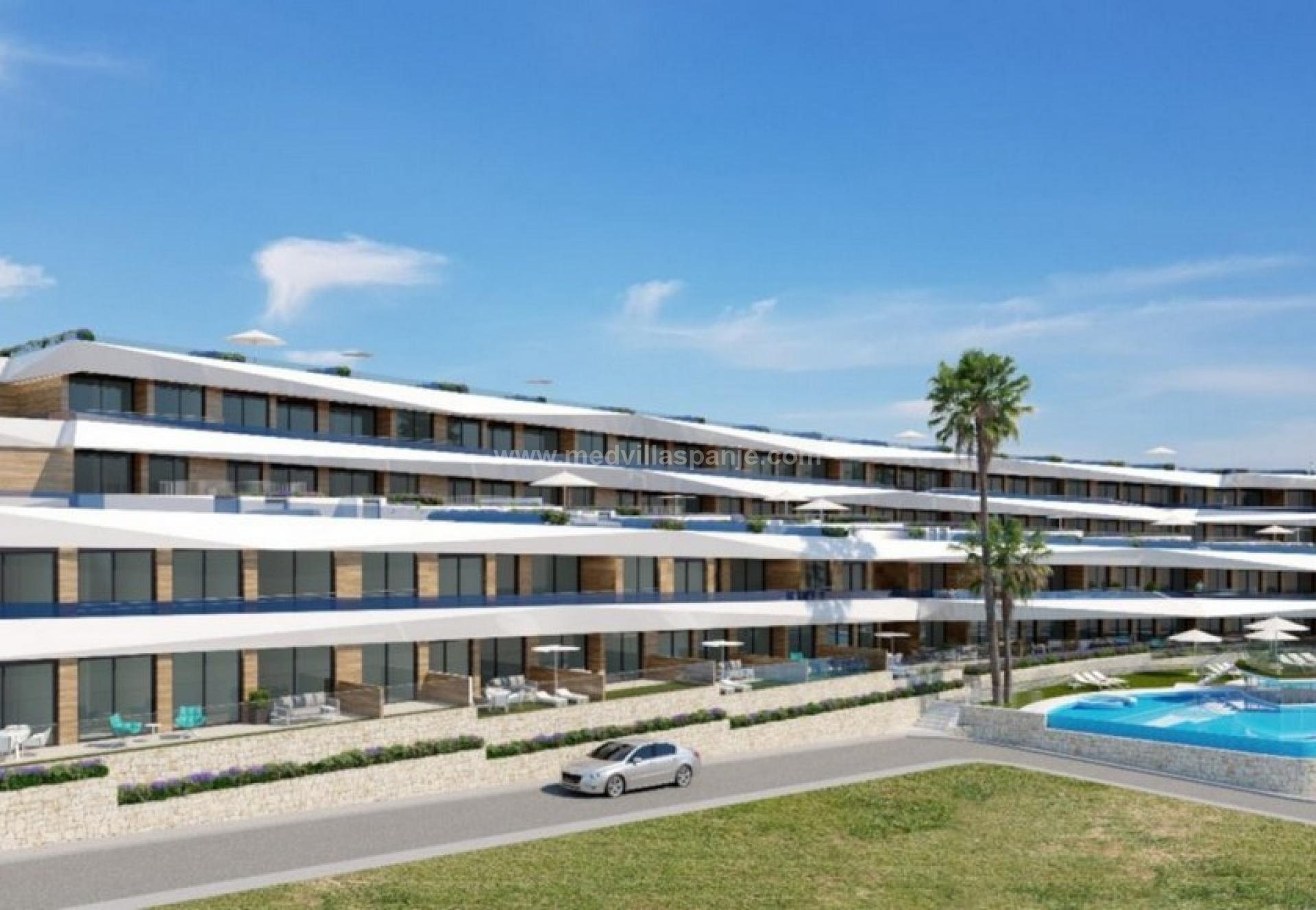 2 bedroom Apartment with terrace in Gran Alacant - New build in Medvilla Spanje