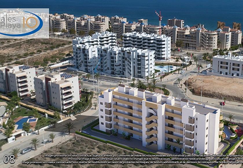 2 bedroom Apartments - solarium in Alicante in Medvilla Spanje