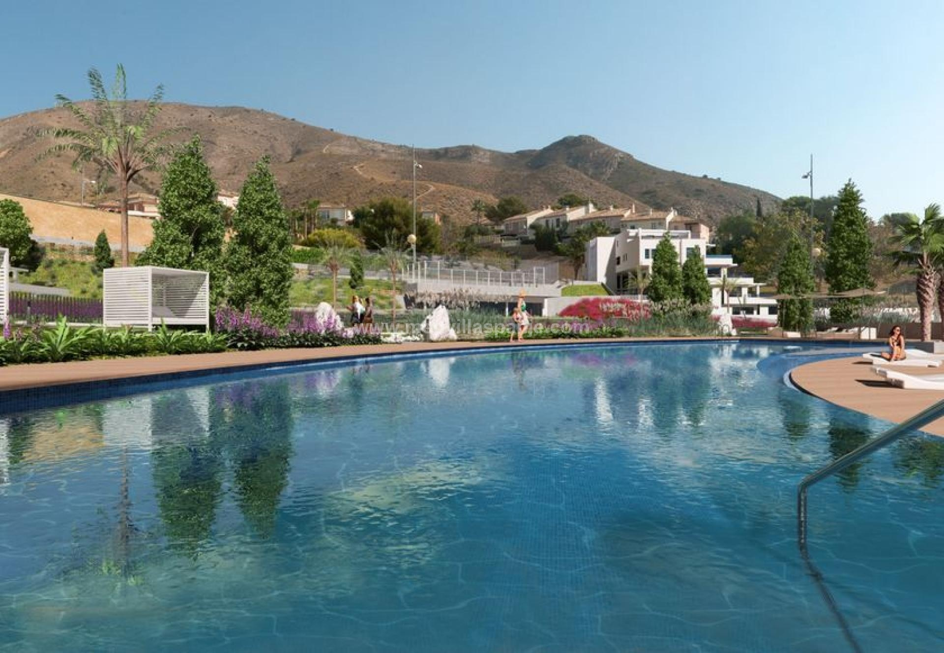 2 bedroom Apartment with terrace in Finestrat - New build in Medvilla Spanje