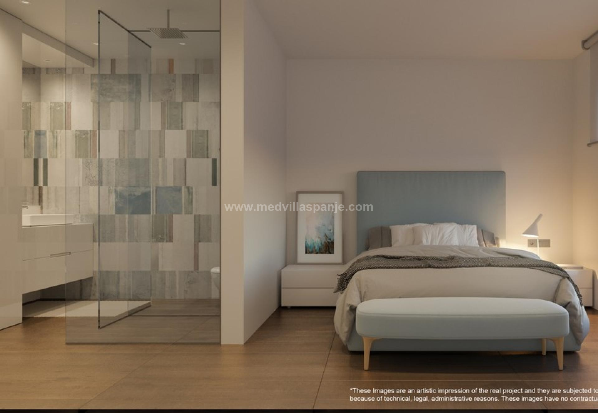 Exclusive new build apartments with terrace Orihuela Costa in Medvilla Spanje