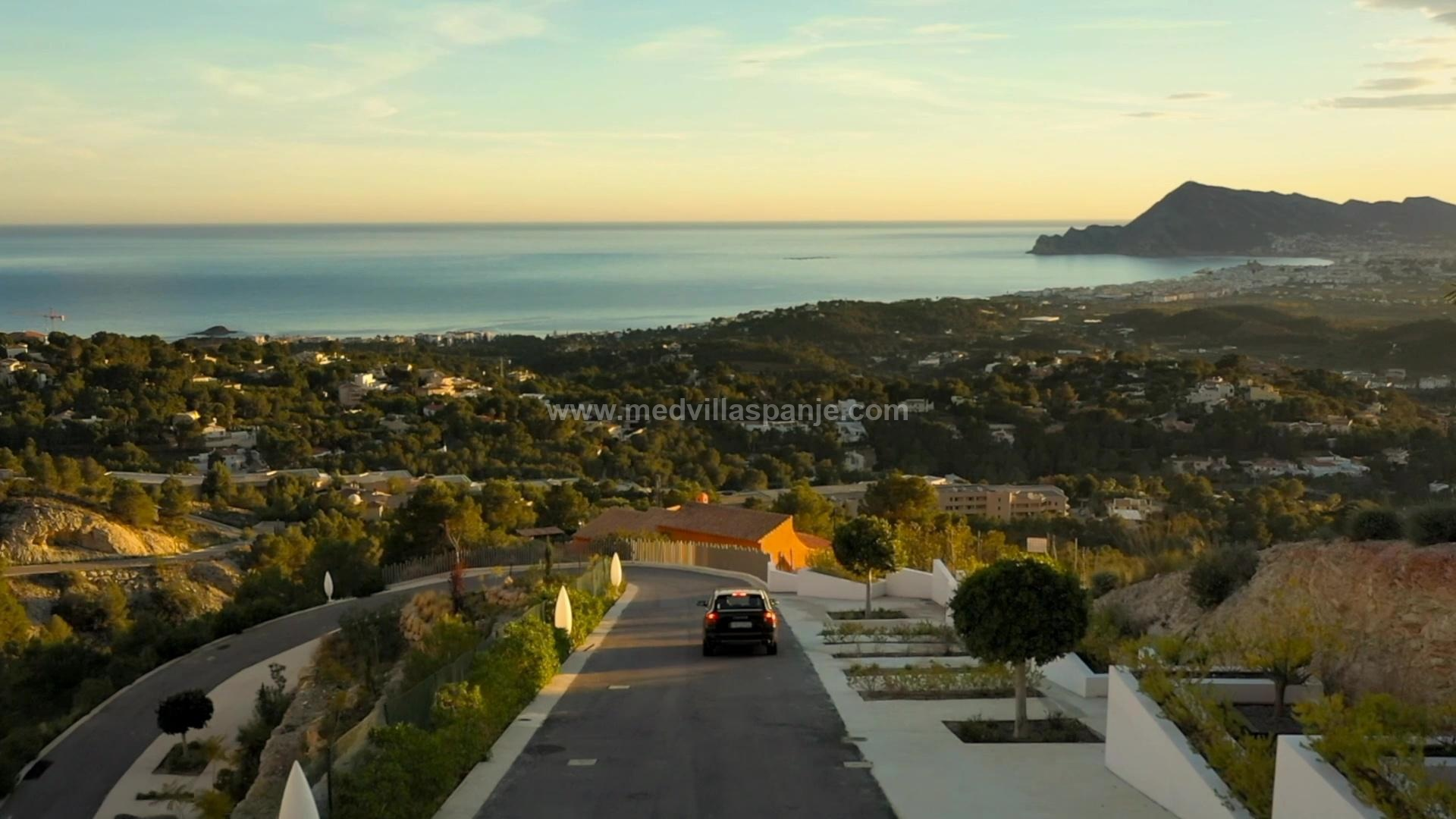 Luxury new build Villa in Altea, Costa Blanca in Medvilla Spanje