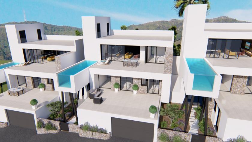 Modern villas for sale near Ciudad Quesada and Rojales in Medvilla Spanje