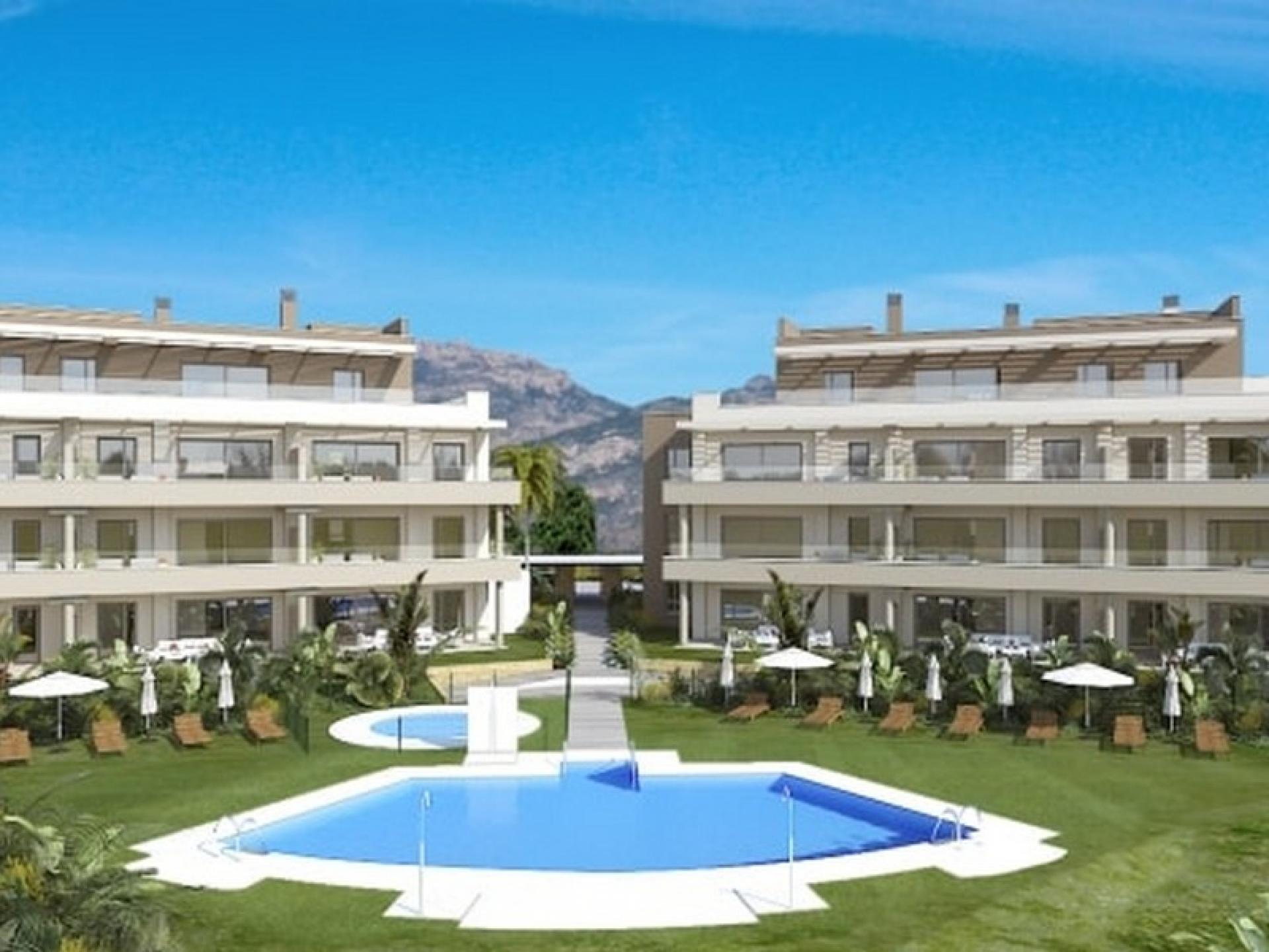 New apartments in the La Cala Golf Resort, Mijas - Malaga in Medvilla Spanje