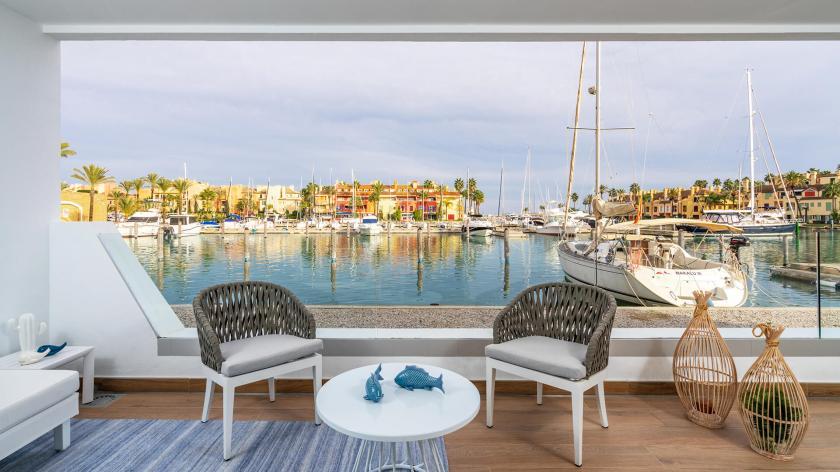 2 bedroom Apartment with terrace in Sotogrande in Medvilla Spanje