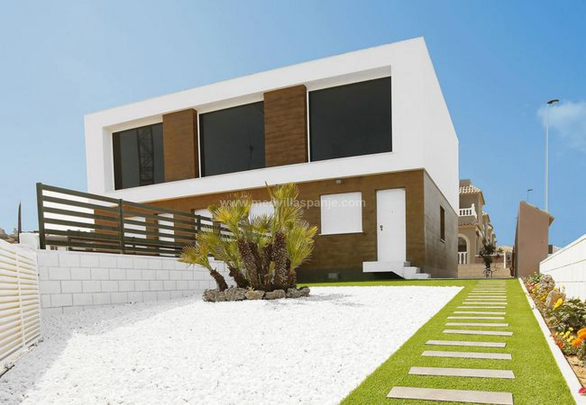 3 bedroom Terraced villa in Gran Alacant - New build in Medvilla Spanje