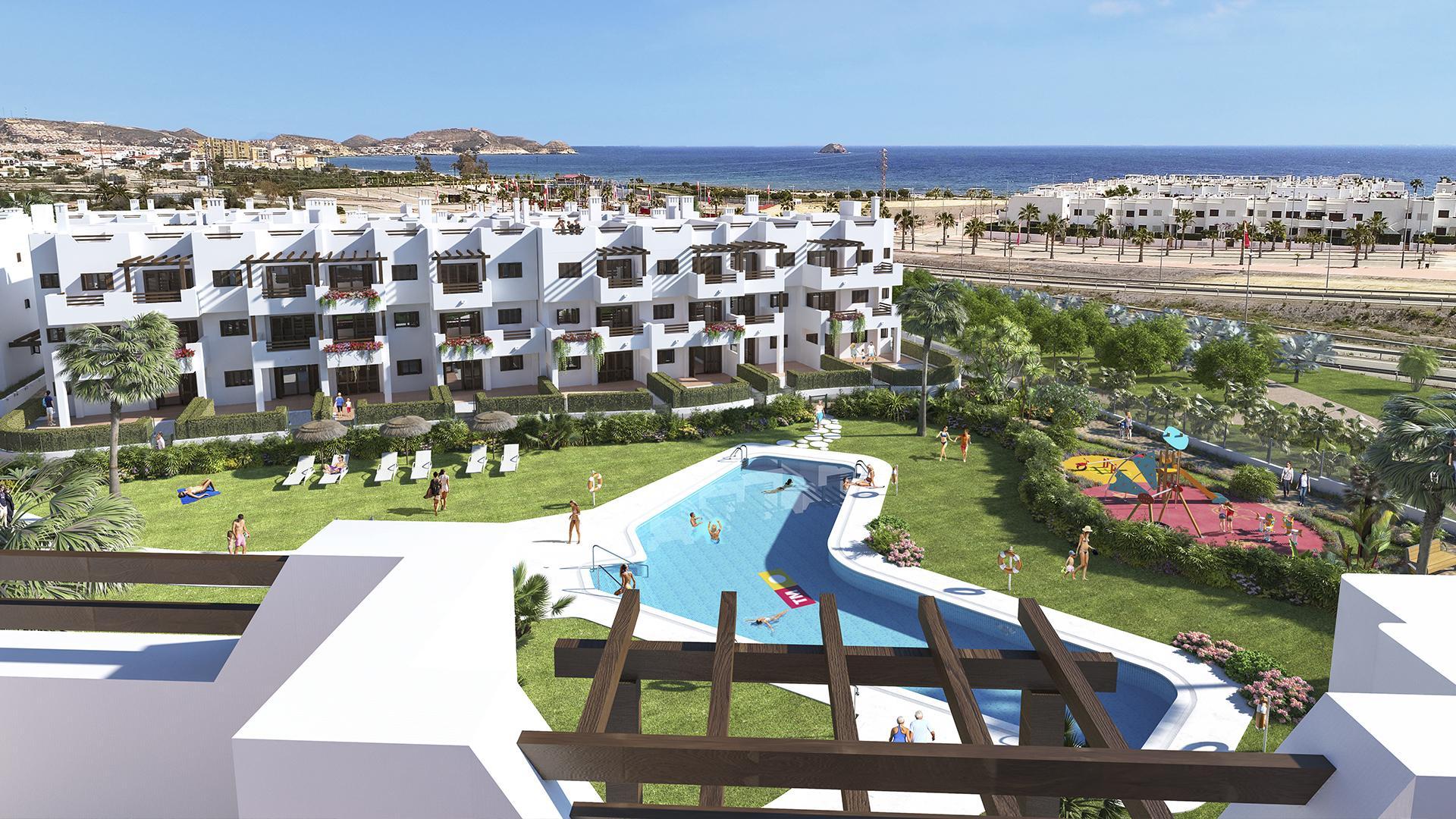 Ground floor apartment with garden in Mar de Pulpi in Medvilla Spanje