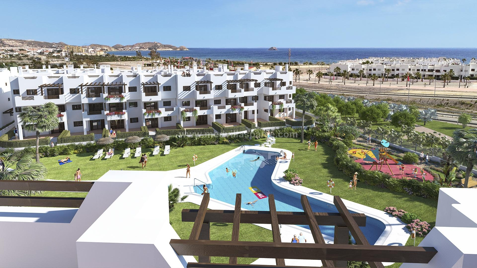 2 bedroom Apartment with terrace in Mar de Pulpi - New build in Medvilla Spanje