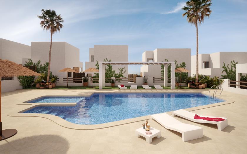 3 bedroom Terraced villa in Villamartin in Medvilla Spanje