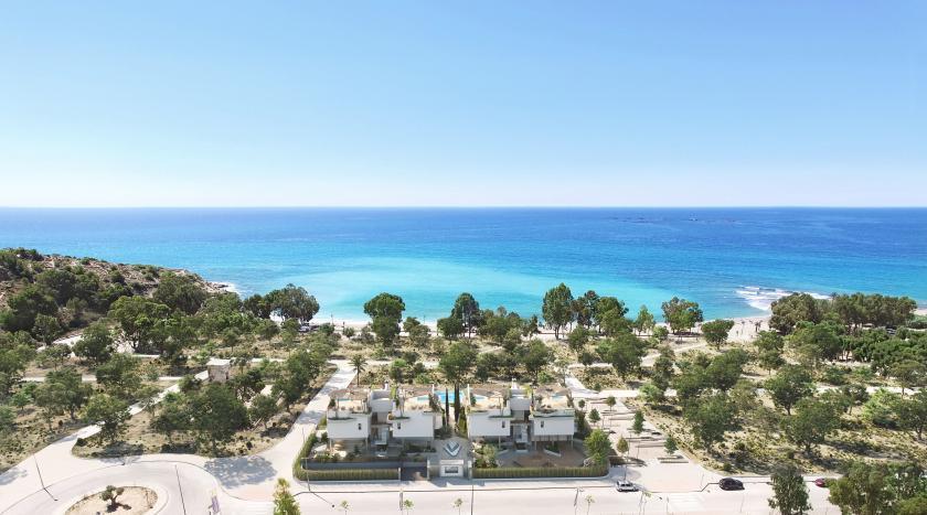 3 bedroom Apartment with terrace in Villajoyosa in Medvilla Spanje