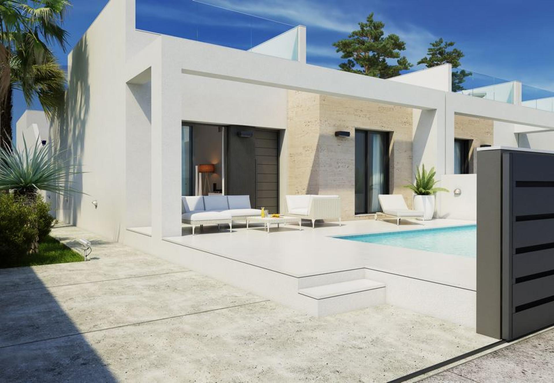 2 bedroom Villa in Daya Nueva - New build in Medvilla Spanje