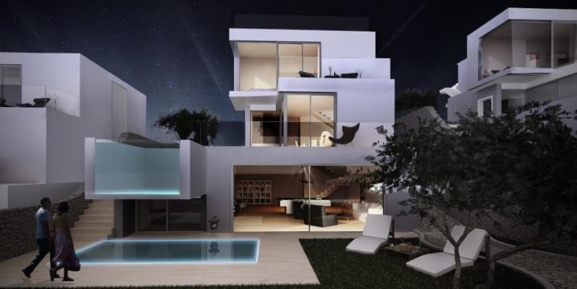 Luxury villas with seaviews in Balcon de Finestrat - Benidorm in Medvilla Spanje