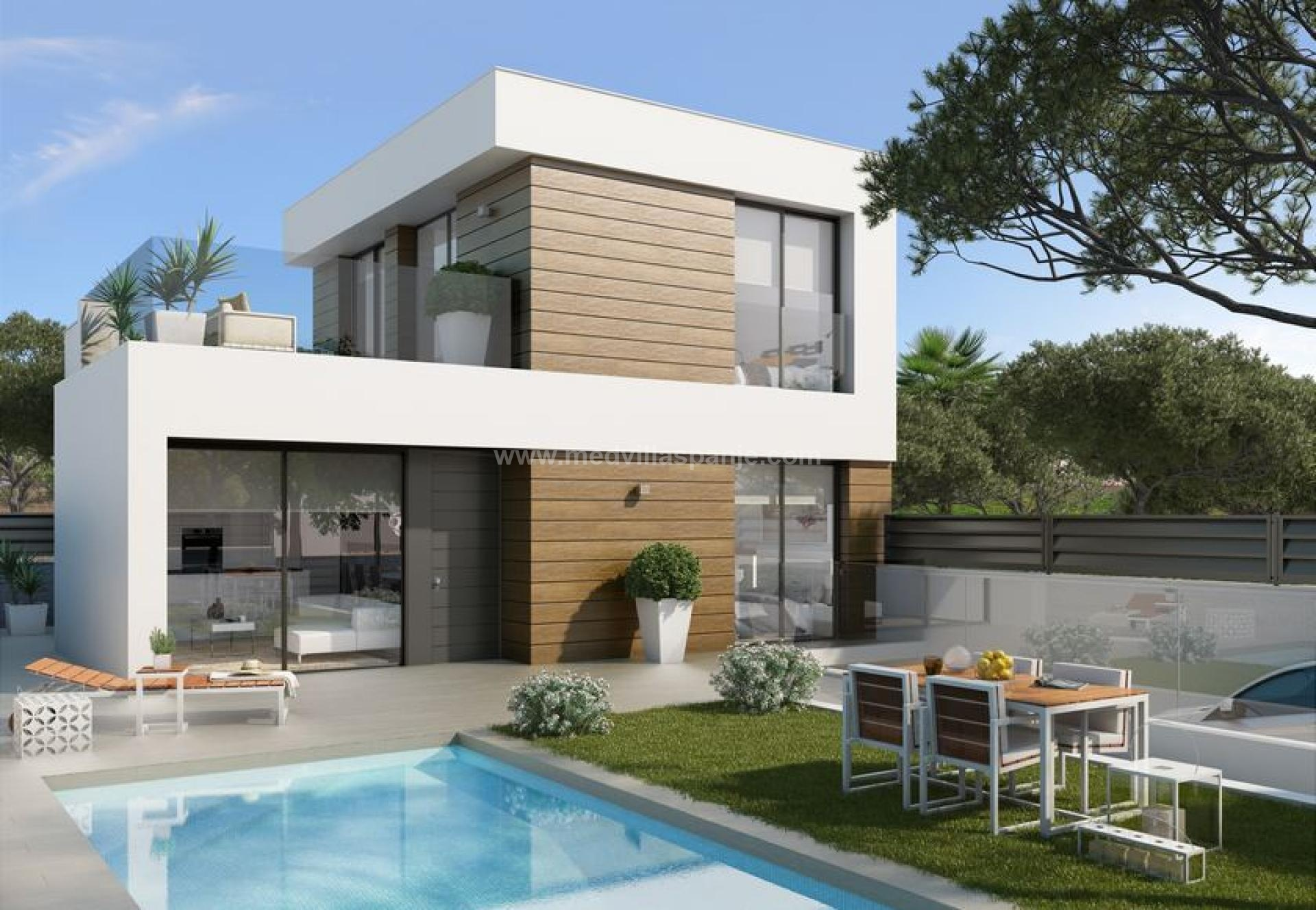 3 bedroom Villa in El Campello - New build in Medvilla Spanje
