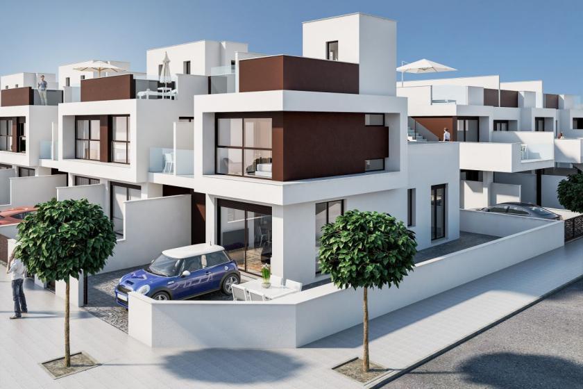 Residential Nova near the beach Torre de la Horadada in Medvilla Spanje