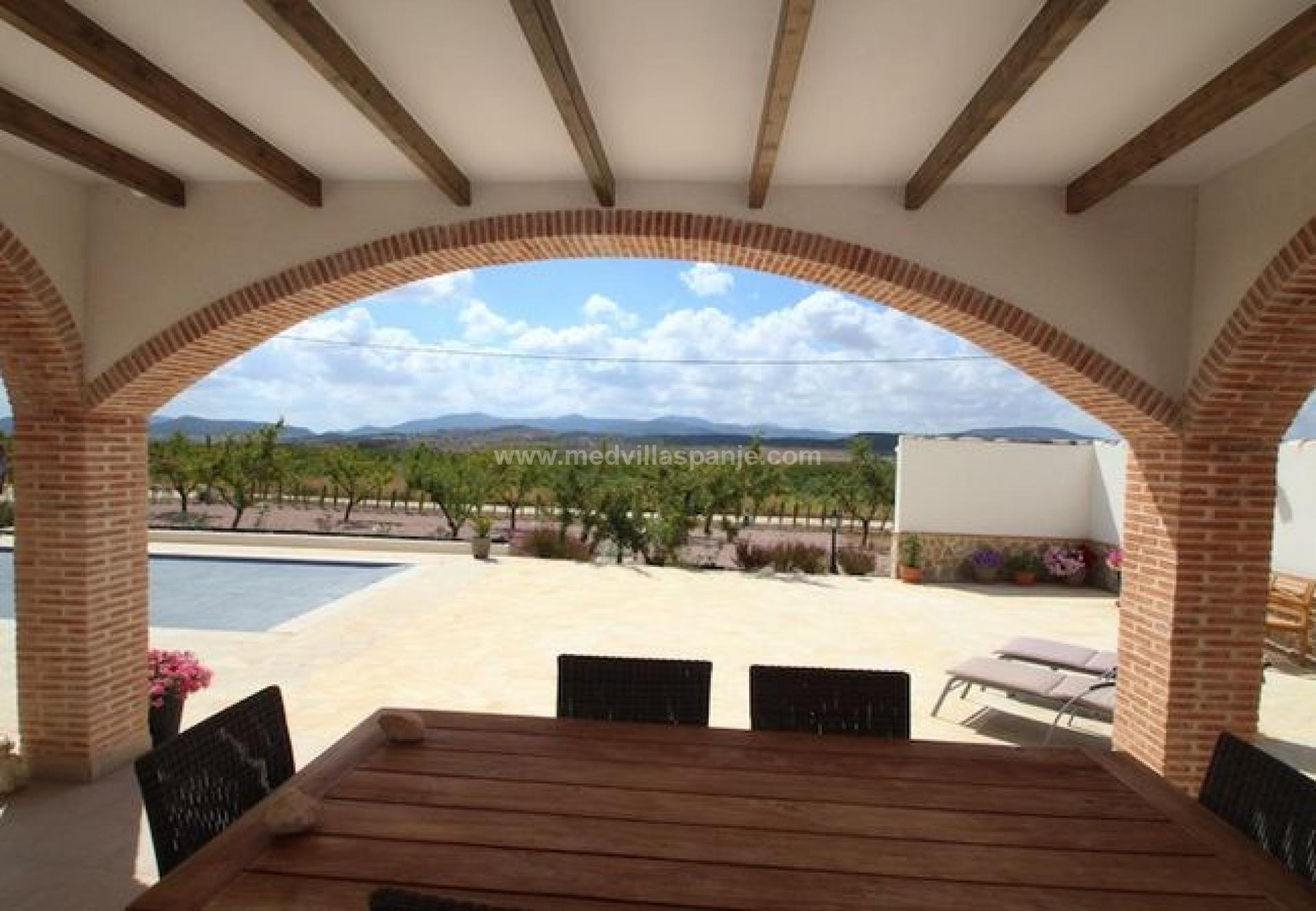3 bedroom Villa in Pinoso - New build in Medvilla Spanje