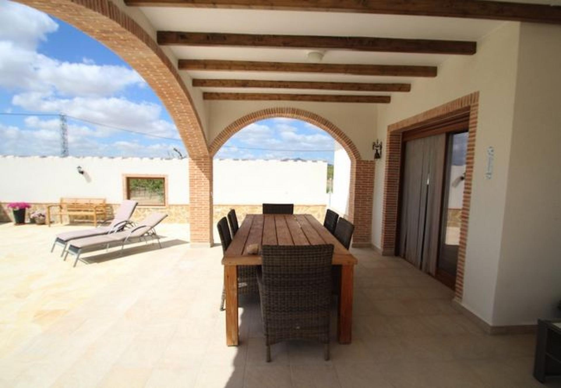 Pinoso - new build off-plan villa in Pinoso, Costa Blanca in Medvilla Spanje