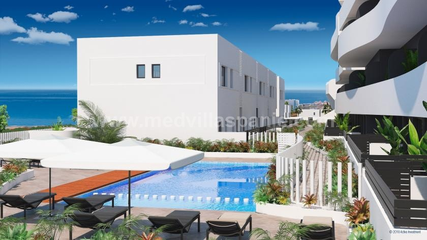 Duplex Apartment 3 bedrooms with sea view Guardamar in Medvilla Spanje