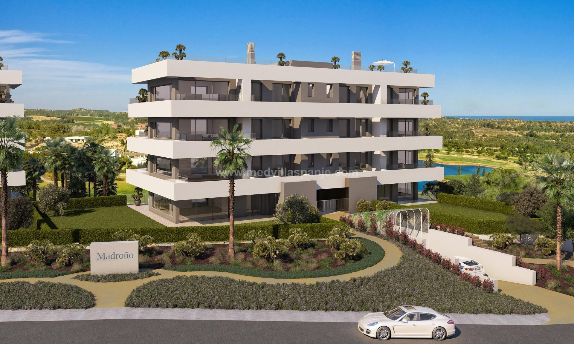 Exclusive design apartments, Costa Blanca in Medvilla Spanje