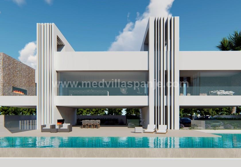 Rojales - Villa Skybox with 5 bedrooms for sale Costa Blanca. in Medvilla Spanje