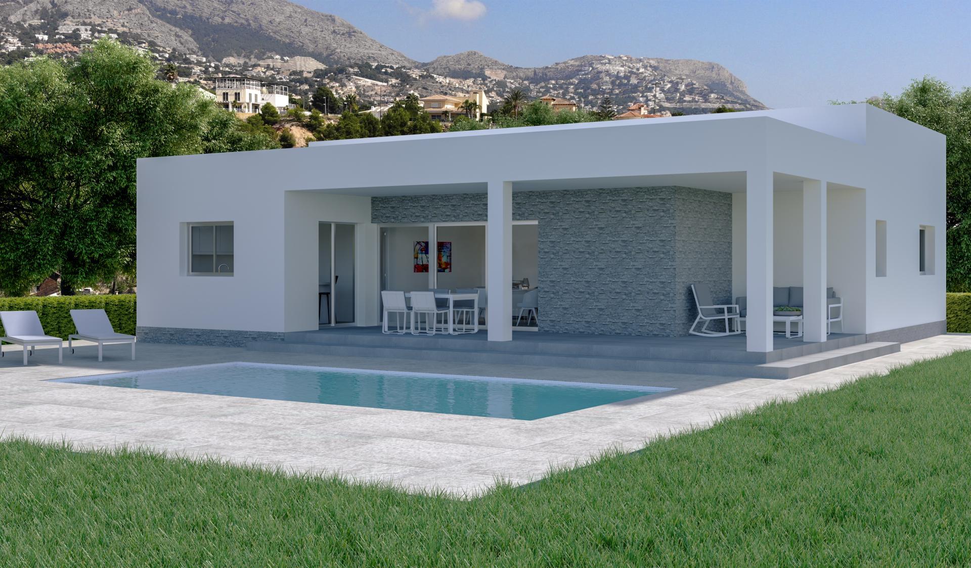 Off-plan villa in Hondon Valley in Medvilla Spanje