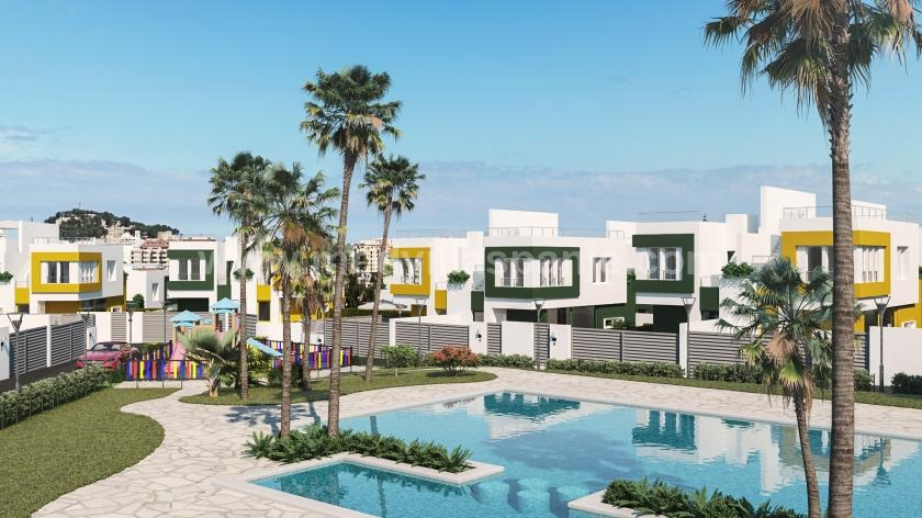 2 bedroom Terraced villa in Denia in Medvilla Spanje