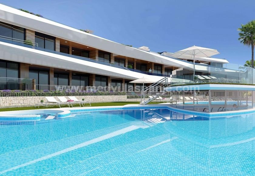 AURA - Penthouse with sea and beach views of Gran Alacant in Medvilla Spanje