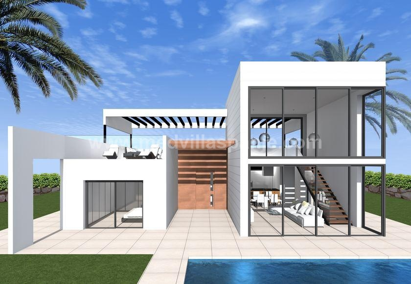 One floor villa in finestrat - Benidorm for sale in Medvilla Spanje