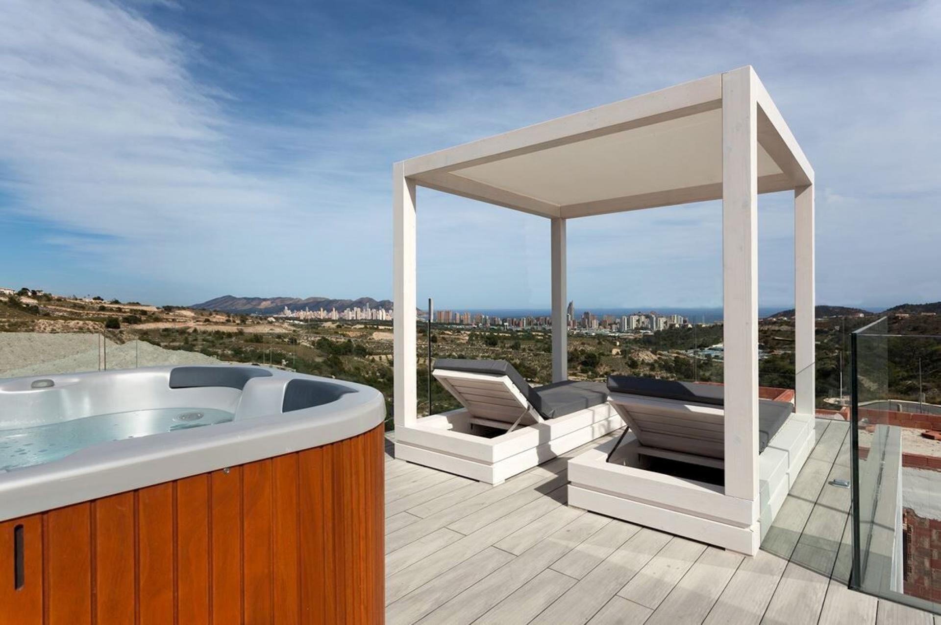 Mediterranean Luxury villas in Balcon de Finestrat - Benidorm in Medvilla Spanje