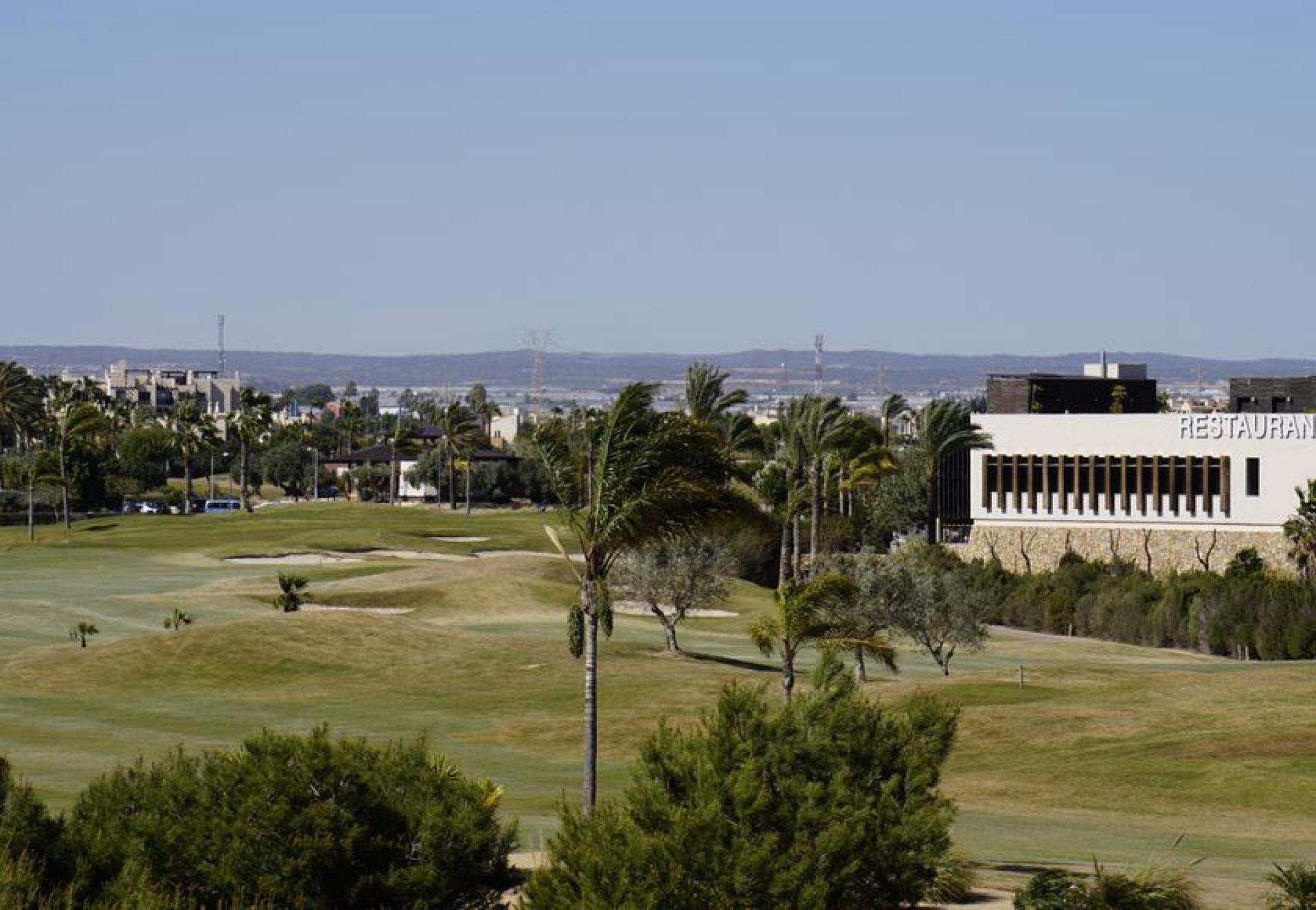 Modern villas with golf view near Murcia in Medvilla Spanje
