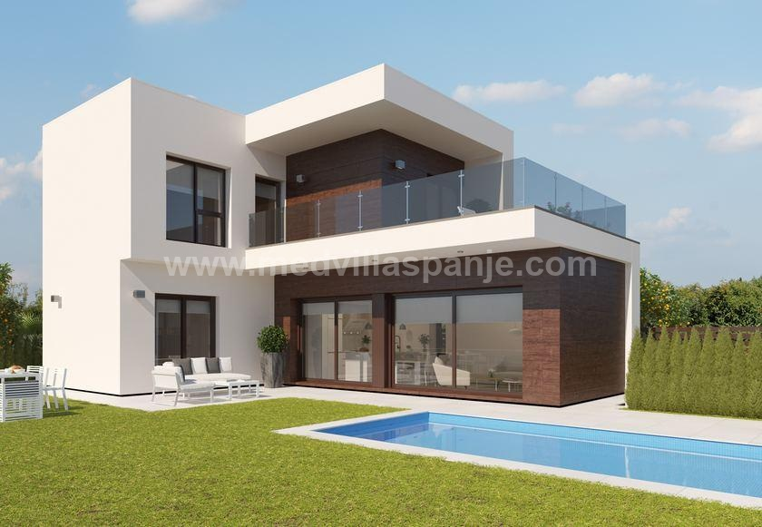 Modern villas with golf view near Murcia in Medvilla Spanje