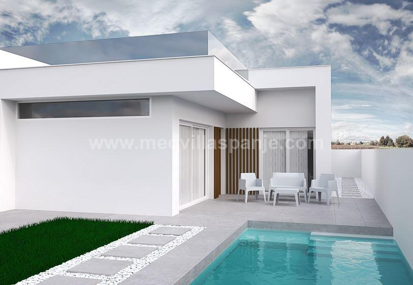 Villas for sale in Santiago de la Ribera on the Mar Menor in Medvilla Spanje