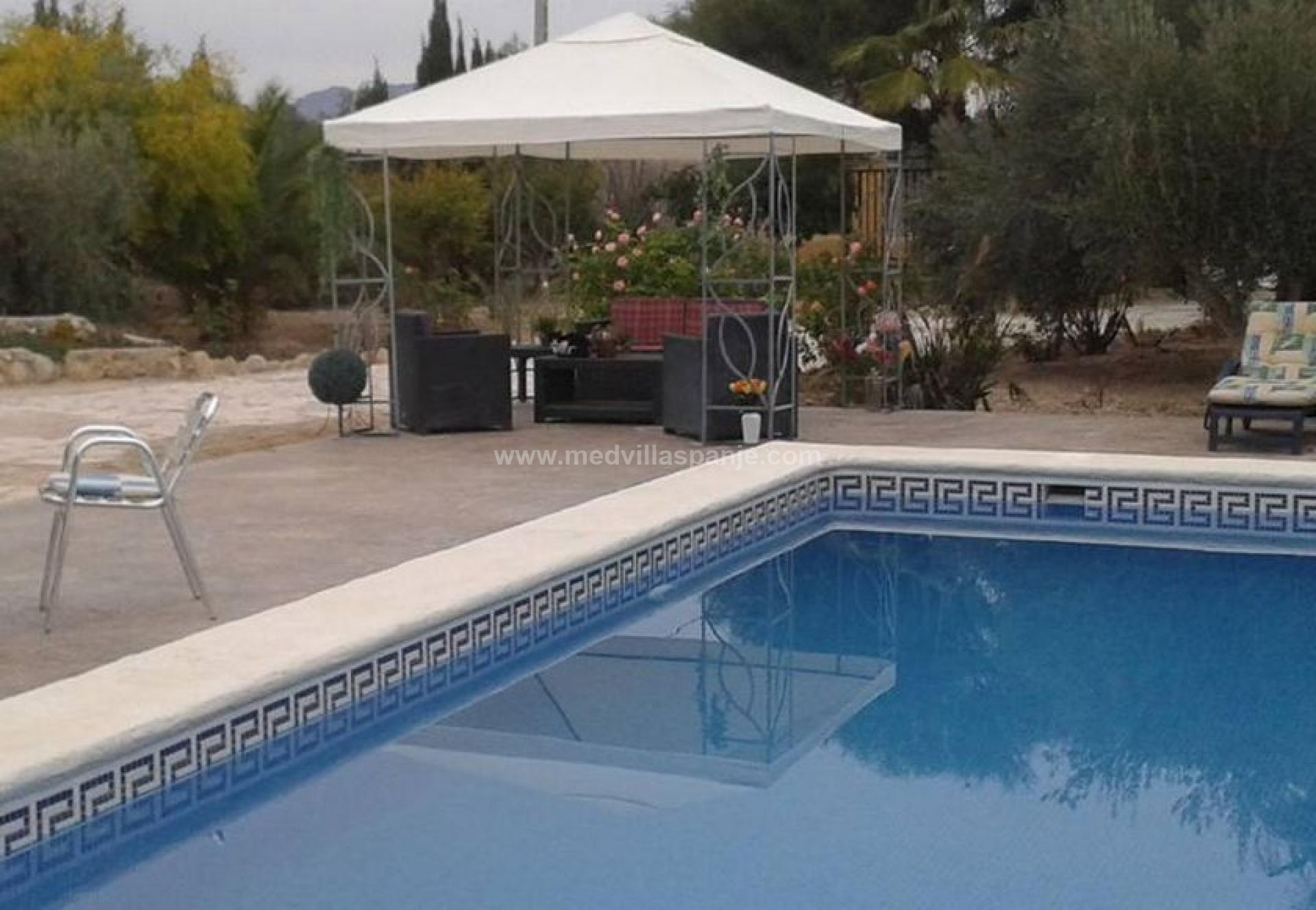 Camp site with b and b potential for sale Aspe, Alicante in Medvilla Spanje