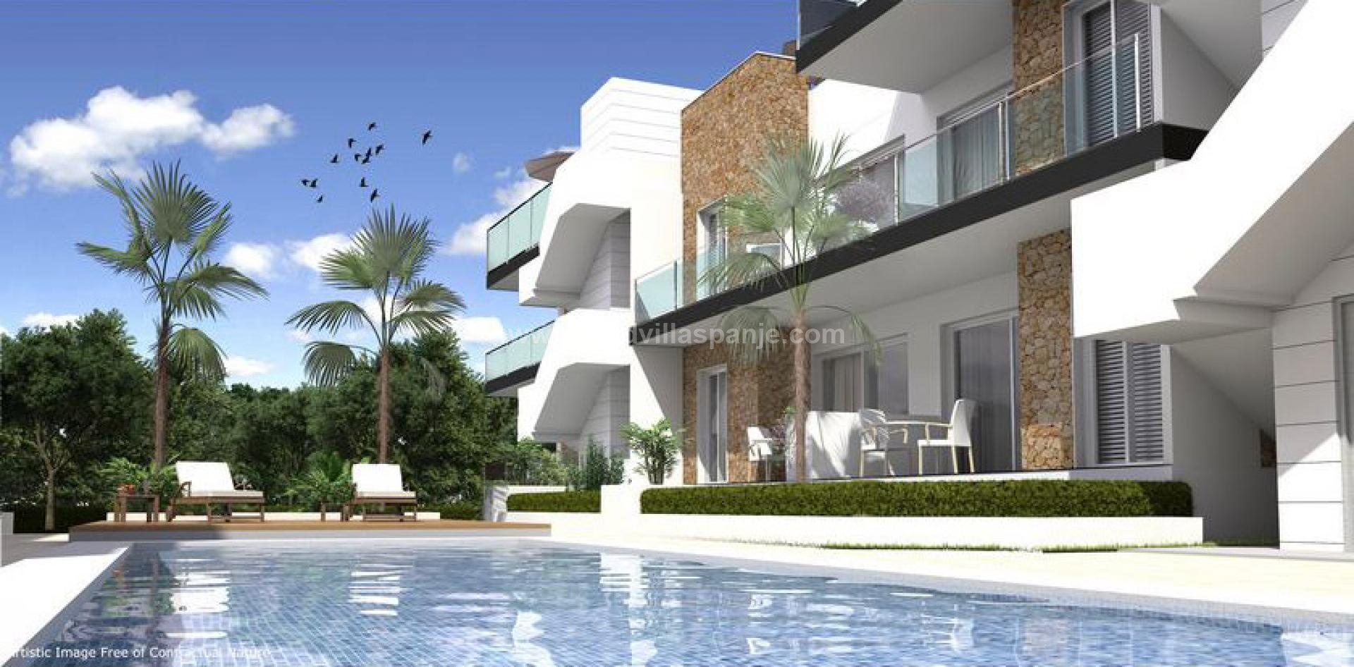 2 Bedroom Apartment in Arenales del Sol, Gran Alacant in Medvilla Spanje